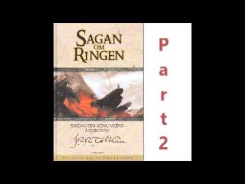 JRR Tolkien Sagan om ringen 2  Part   Svenska Ljudbok