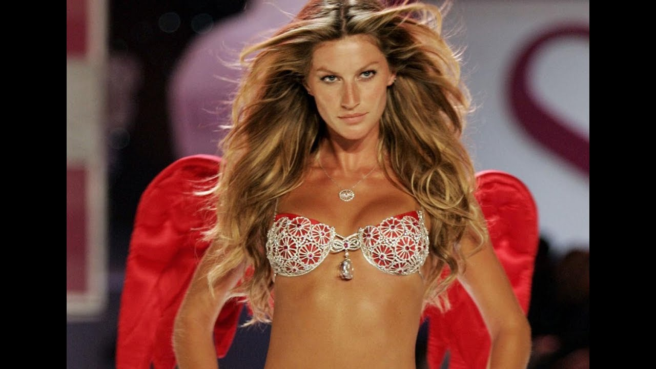 c227444ec9 Gisele Bundchen Victoria s Secret Runway-end Pose 1999-2006 - YouTube