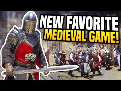 MY NEW FAVORITE MEDIEVAL GAME - Mordhau Gameplay | Becoming a Knight!