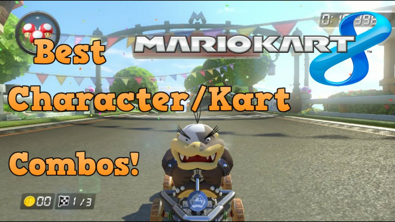 Mario Kart 8 Best Character Kart Combos In Mk8 Youtube
