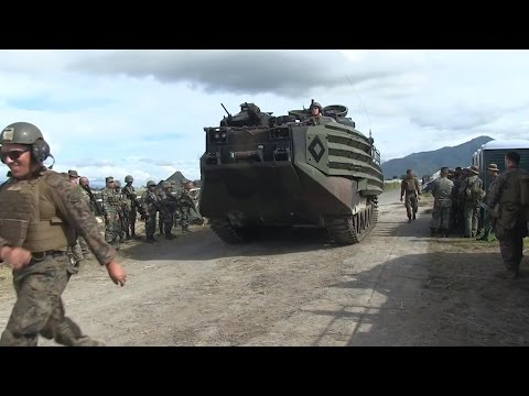 Phiblex 33 - Philippines and US Marines  in Preparation of D-Day Amphibious  Landing