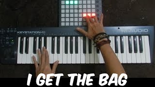 I Get The Bag - Gucci Mane feat. Migos   Instrumental Cover By Dimas M