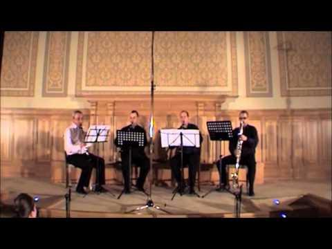Clarinet quartet Konick - Tritsch Tratsch polka
