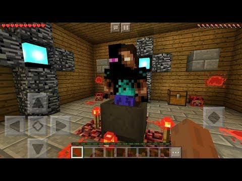 I FOUND ENDERBRINE in Minecraft Pocket Edition