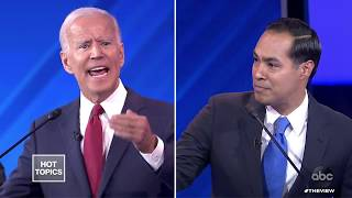 Julian Castro Questions Joe Biden39;s Memory  The View