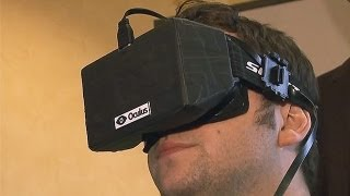 Oculus Rift Virtual Headset is a Game Changer - CES 2013