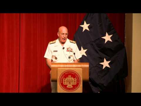 All Hands On Deck - Admiral Kurt Tidd - Georgia Military College