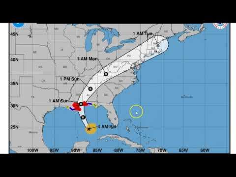 Hurricane NATE AM Update Sat Oct 7 2017