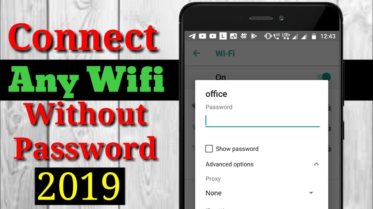 Connect Any WIFI Without Password Latest Method 10000