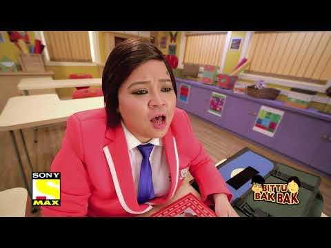 Bittu Bak Bak - Bittu Teacher Ko Mitha Khila Ta Ha - Krushna and Bharti