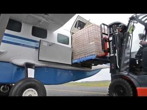 Maiden Freight Flight: Cessna Grand Caravan | Tasfast Airfreight