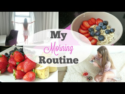 My Morning Routine Summer Edition Moja Poranna Rutyna Youtube