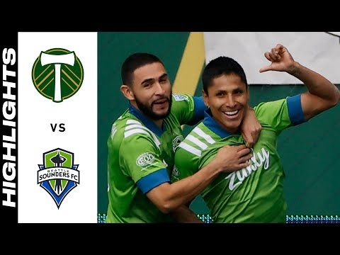 Portland Timbers Seattle Sounders Goals And Highlights