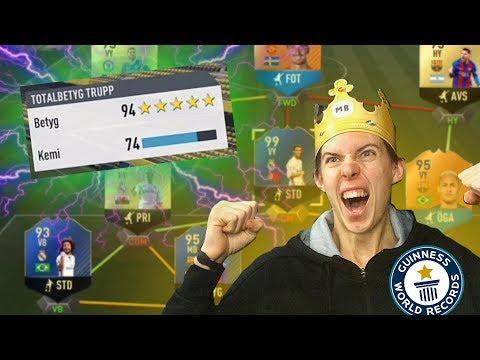 *94 RATING?!* MIN BÄSTA DRAFT NÅGONSIN! | FIFA 17 PÅ SVENSKA