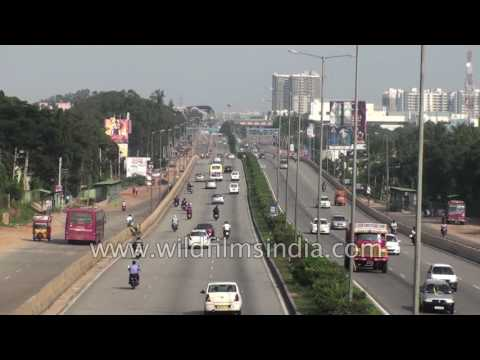 Transportation and traffic plans in Bangalore, Karnataka