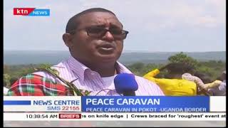 Peace caravan in Pokot - Uganda border