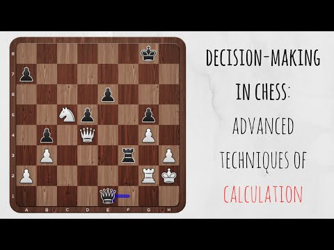 Advanced techniques of chess calculation: use an emergency exit!