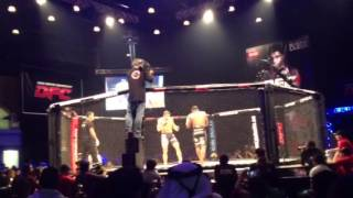 Dubai MMA: Paul Daley (UK) Vs. Ximbica (BRAZIL) DFC 4 Rd.1