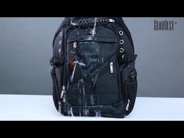 3d4626e90 Esta mochila possui alças de ombro leves e ergonômicas, alça de peito  removível e cinto para reduzir a carga de seu ombro. Ele também vem com  vários ...