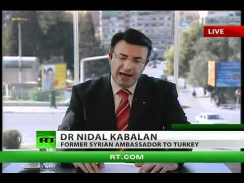 2012 APRIL 8th - SYRIA CRISIS - BOTH SIDES APPEAR TO BE MOVING APART - (4_8_2012)