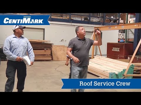 Roof Service Crew - Get to Know CentiMark's Commercial Roofers