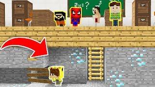 Minecraft BİLİNMEYEN İMKANSIZ OKUL'DAN KAÇIŞ!