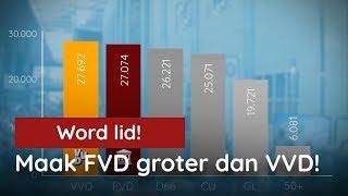Maak FVD groter dan VVD! Nog 3 dagen!