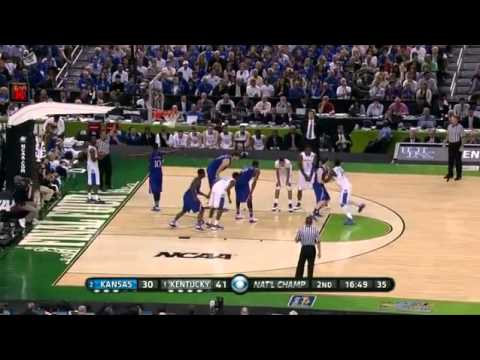 1 Kentucky vs 2 Kansas | 4/2/2012 | NCAA Men's Basketball Na