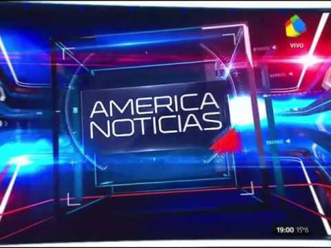 América Noticias - fragmento inicial de apertura (12/9/2016)