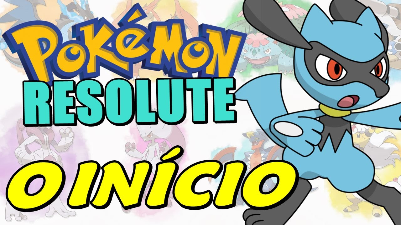 Pokemon resolute riolu evolve