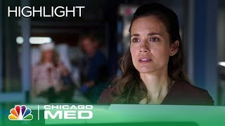 Will and Natalie Butt Heads Over Who Is in Charge of a Case - Chicago Med (Episode Highlight)