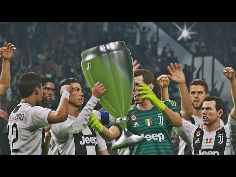 PES 2019 - Juventus vs Manchester City| Final UEFA Champions League | PS4 PRO