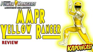 HASBRO LIGHTING COLLECTION MMPR YELLOW RANGER REVIEW