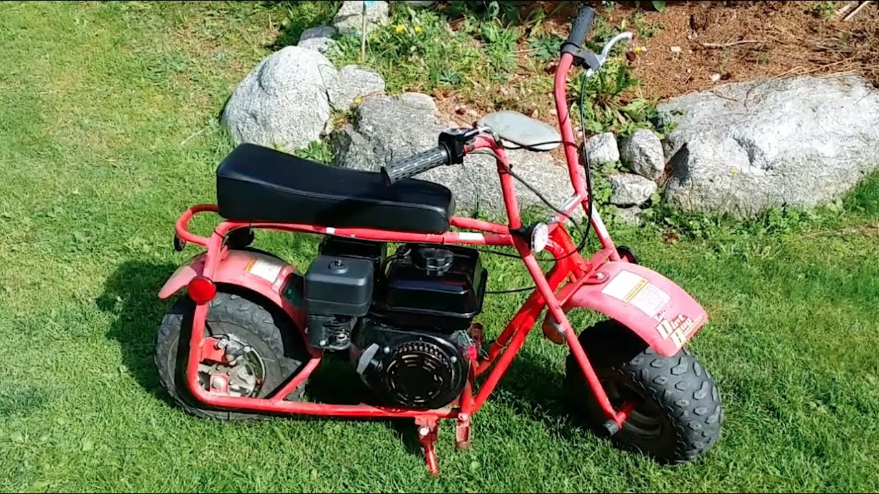 Modified Mini Bike 6 5 Hp Clone Powered Baja Dirt Doodle Bug