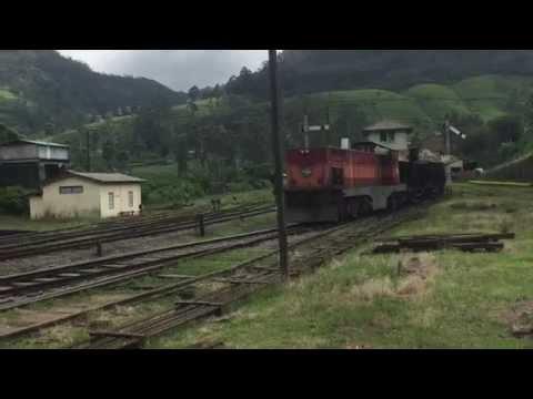 Mixed Freight  Passenger Train at Nanuoya