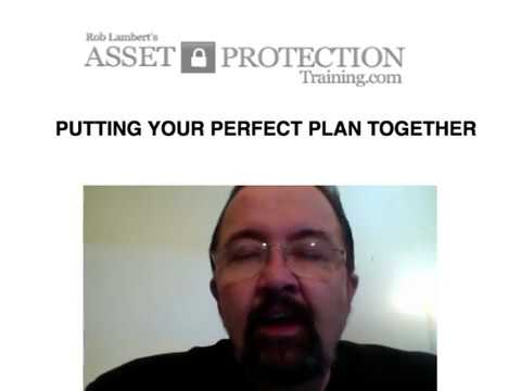 Perfect Asset Protection Plan Trust v2 8 26 12