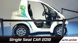 Toyota39s Single Seater Electric Car India  Auto Advice