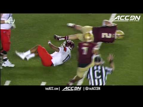 Virginia Tech vs Boston College Condensed Game College Football 2017