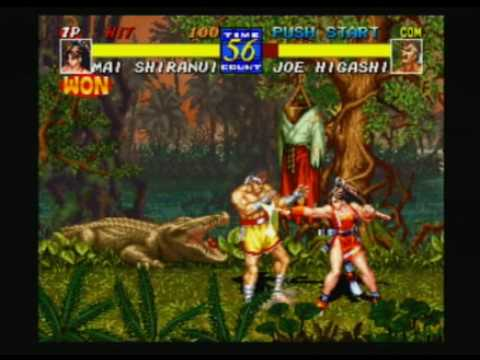 Fatal Fury 3 (PS2) Gameplay # 3