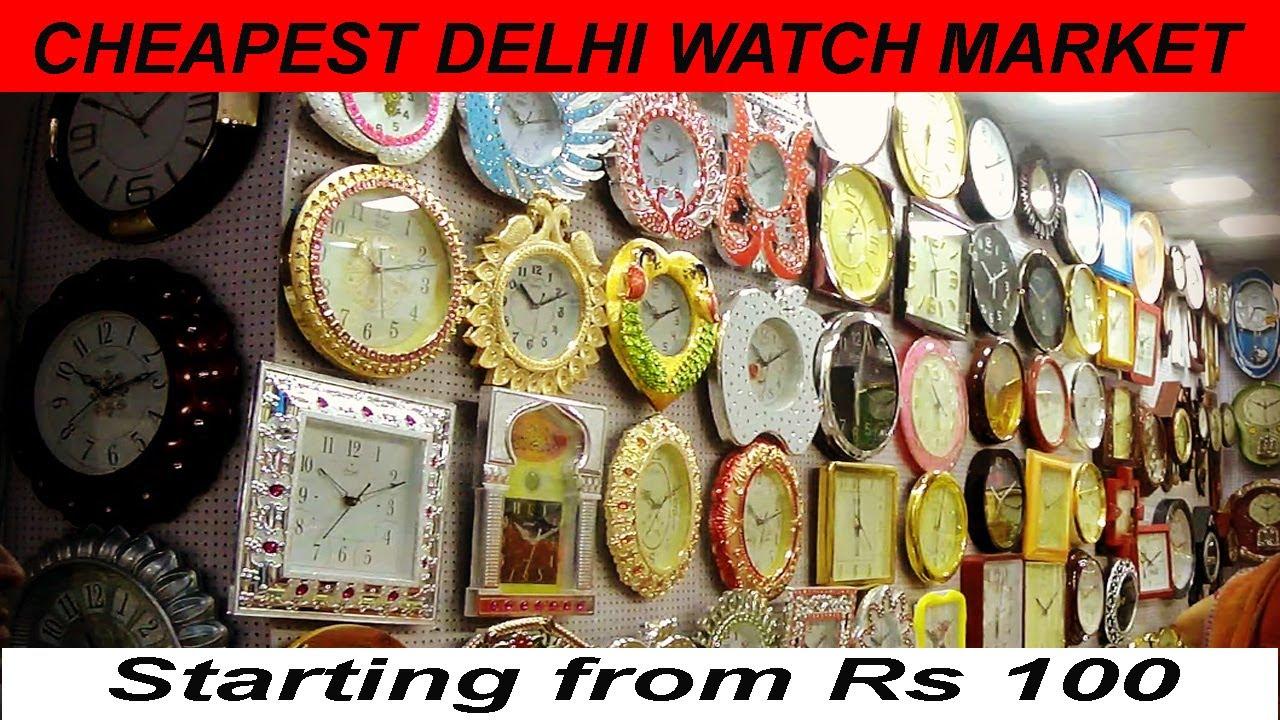 fbffaf46218 VikVlogs  4⌚⏰Delhi s Biggest Watch Market