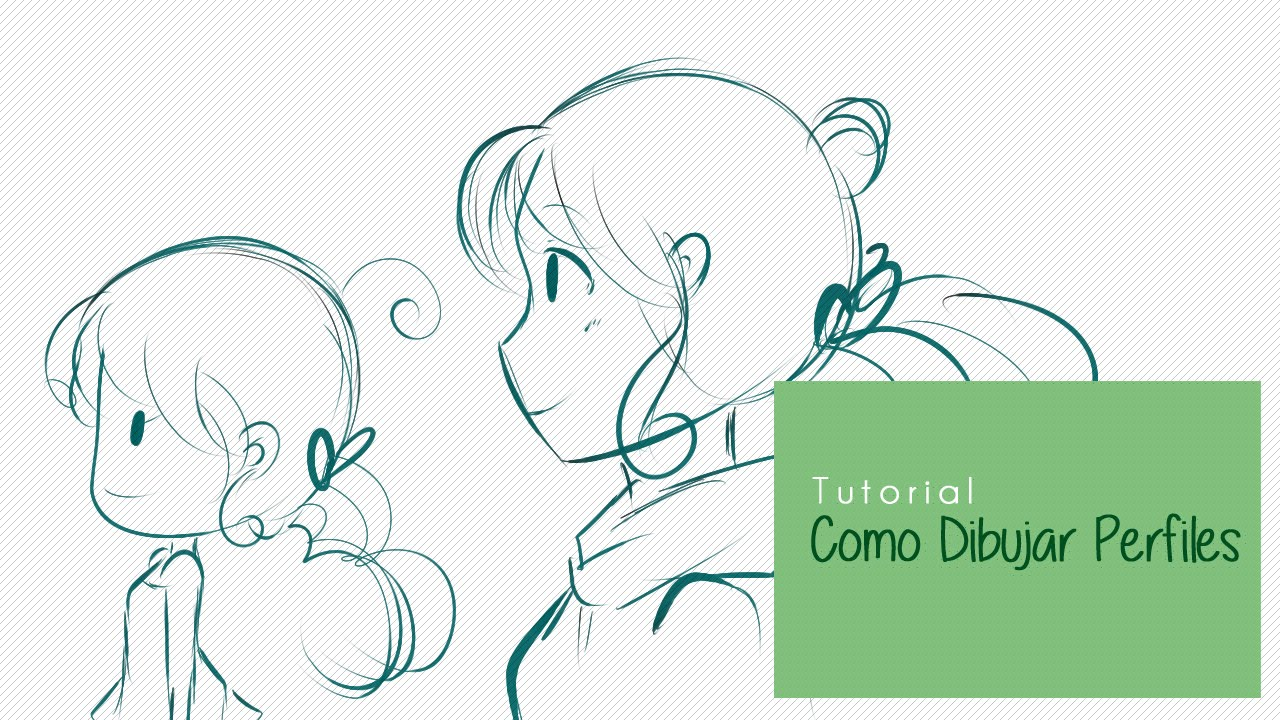 Tutorial Como dibujar perfiles anime y chibi   YouTube