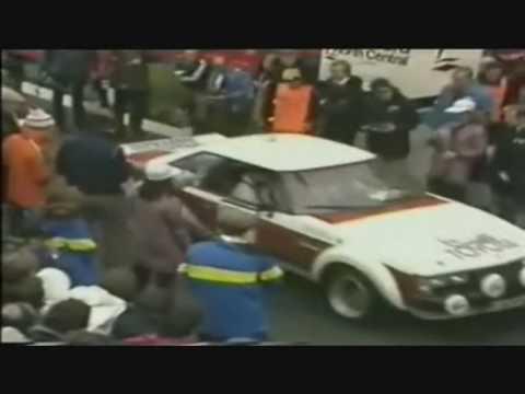 Toyota Celica Ra40 2000gt Dohc Rally 1979 Youtube