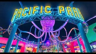 A Day of Fun At Pacific Park, on The Santa Monica California Pier
