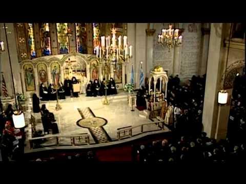 Enthronement of Archbishop Demetrios