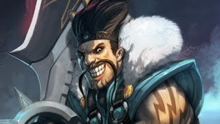 League of Legends - Masacre con Draven y Janna en Bot de Adc (Temporada 4)