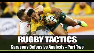 Rugby Dump Coaching: Saracens Defensive System - Part Two