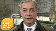 Nigel Farage Reacts to the Brexit Party Unable to Win a Seat   Good Morning Britain