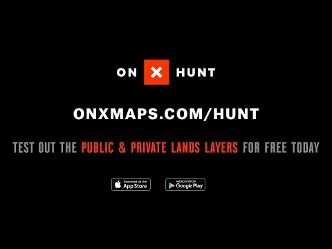 onX Hunt - Public and Private Land Ownership