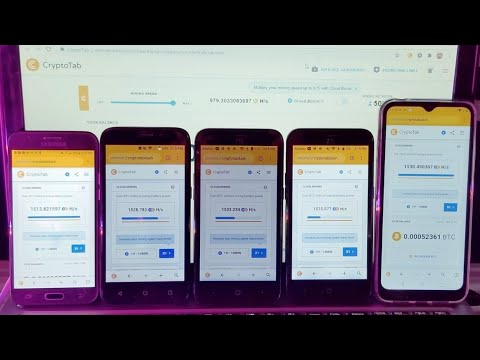 How To Mine Bitcoin On Your Phone PC Or Laptop With The Cryptotab Browser App (App Has Updated)
