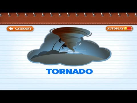 Kids Learning Weather Season and Natural Disaster Names With Finger Family Song